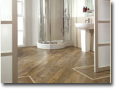 karndean wooden bathroom floor