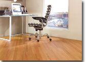Karndean office wood strip